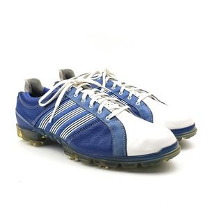 Adidas blue adicross tour fitfoam golf shoes